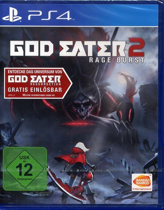 Bandai Namco God Eater 2 Rage Burst (inklusive God Eater Resurrection) »(PS4)«