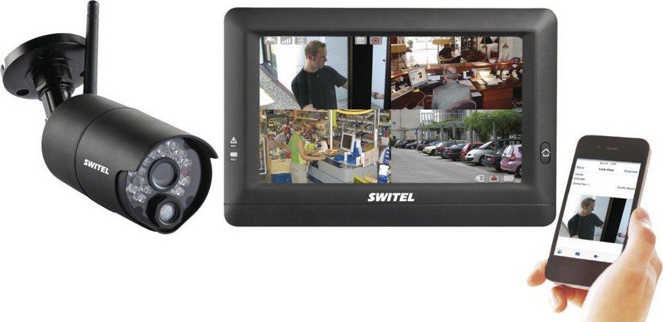 Switel Drahtloses Digital-HD-überwachungssystem »HSIP5000« in schwarz