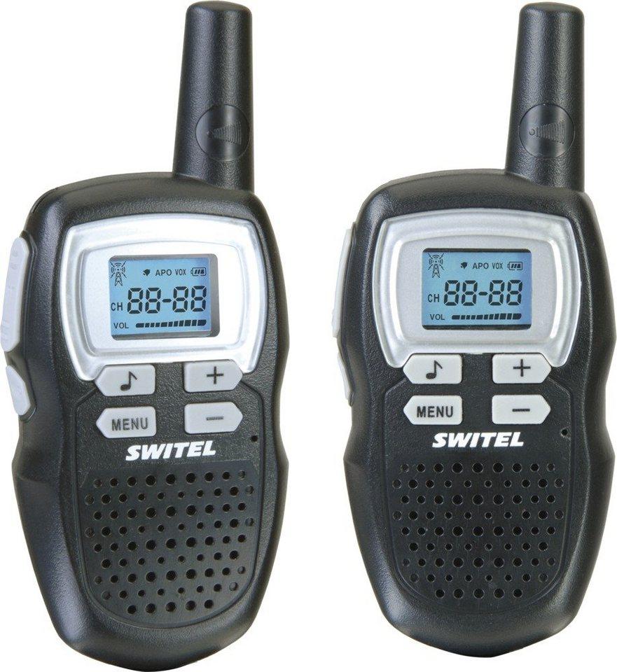 Switel PMR-Handfunkgerät »WTE2310« in schwarz