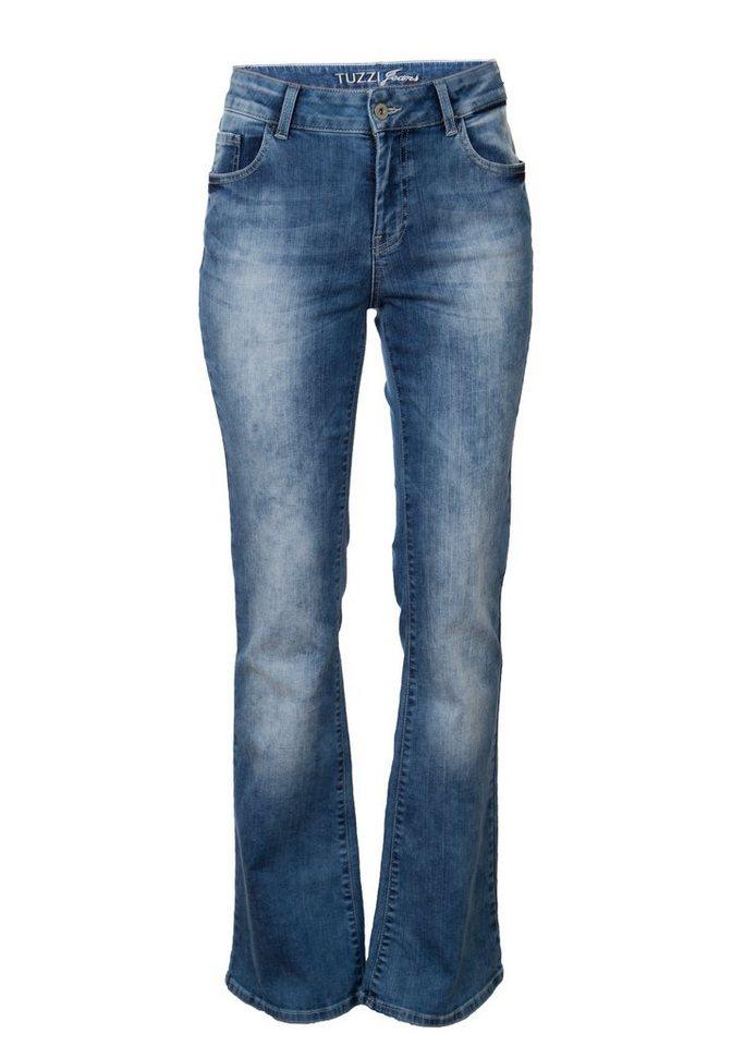 TUZZI Bootcut Jeans in light denim