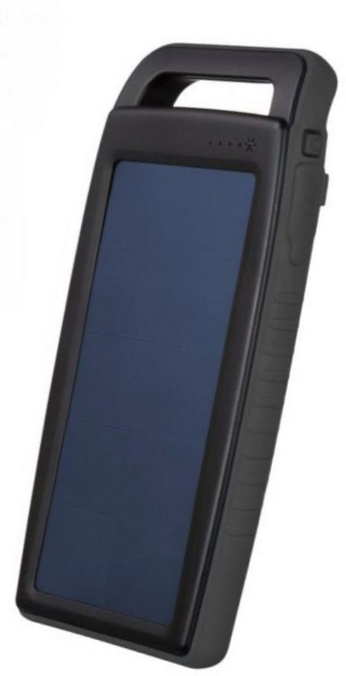 Xtorm Lader »Solarpanel & Powerbank Hybrid 4x (10.000 mAh)« in Schwarz