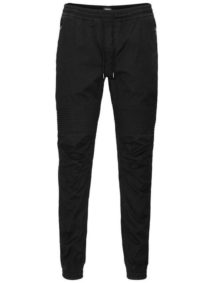 Jack & Jones Schwarz Chino in Black