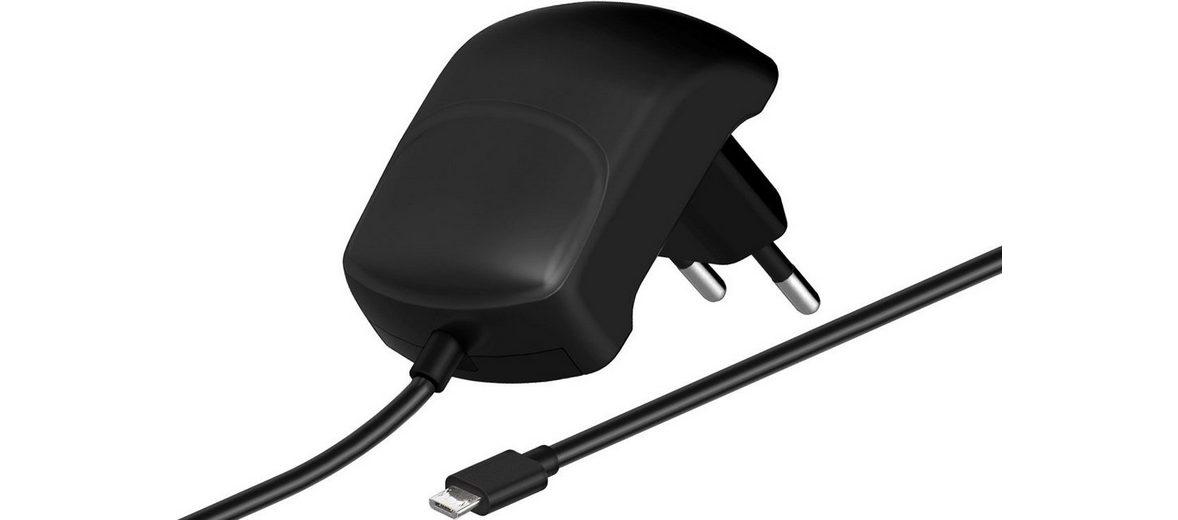 goobay Micro-USB Ladegerät 2,1A »Ersatz-Netzteil«