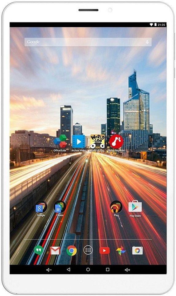"ARCHOS 80b Helium 4G Tablet »Mediatek Quad-Core, 20,32cm (8""), 16 GB, 1 GB« in weiß"