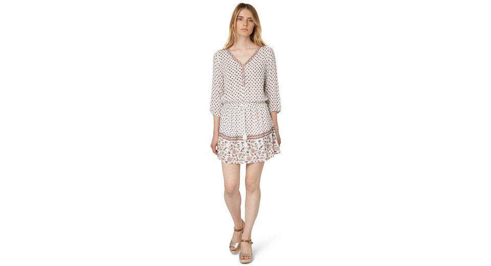 TOM TAILOR DENIM Kleid »printed dress«