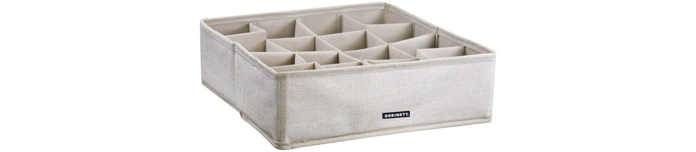 Aufbewahrungsbox »Linette«, mit 16 Fächern, 30,5x30,5x10 cm, 2er-Set