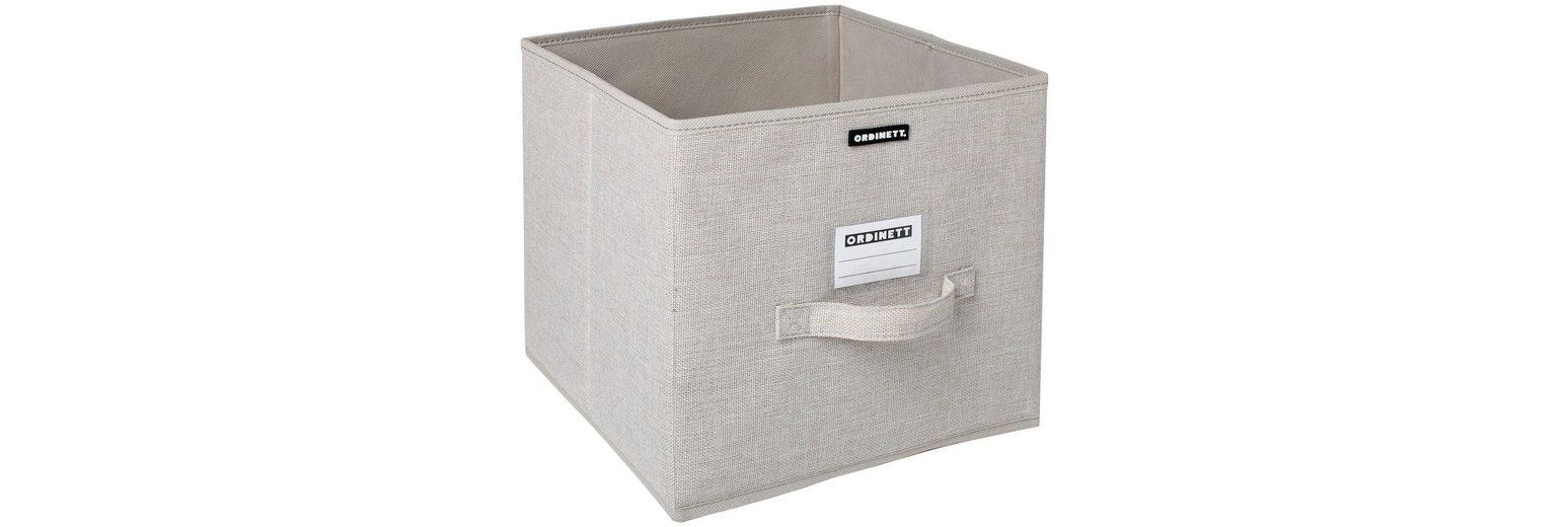 Aufbewahrungsbox »Linette«, groß, 28,5x28,5x28,5 cm, 2er-Set