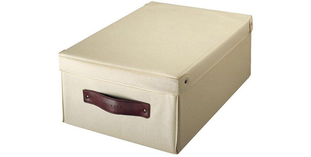 Aufbewahrungsbox »Wood«, Größe M, 2er-Set