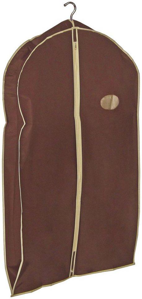 Kleidersack »Choco«, Größe M, 2er-Set in braun