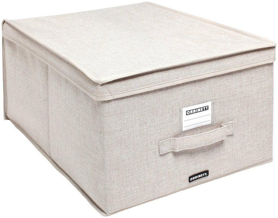 Wäschebox »Linette«, 2er-Set in beige