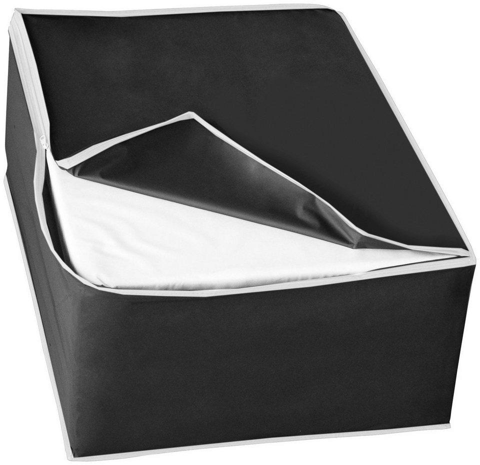 Wäschebox »One Way«, Größe L, 2er-Set in schwarz