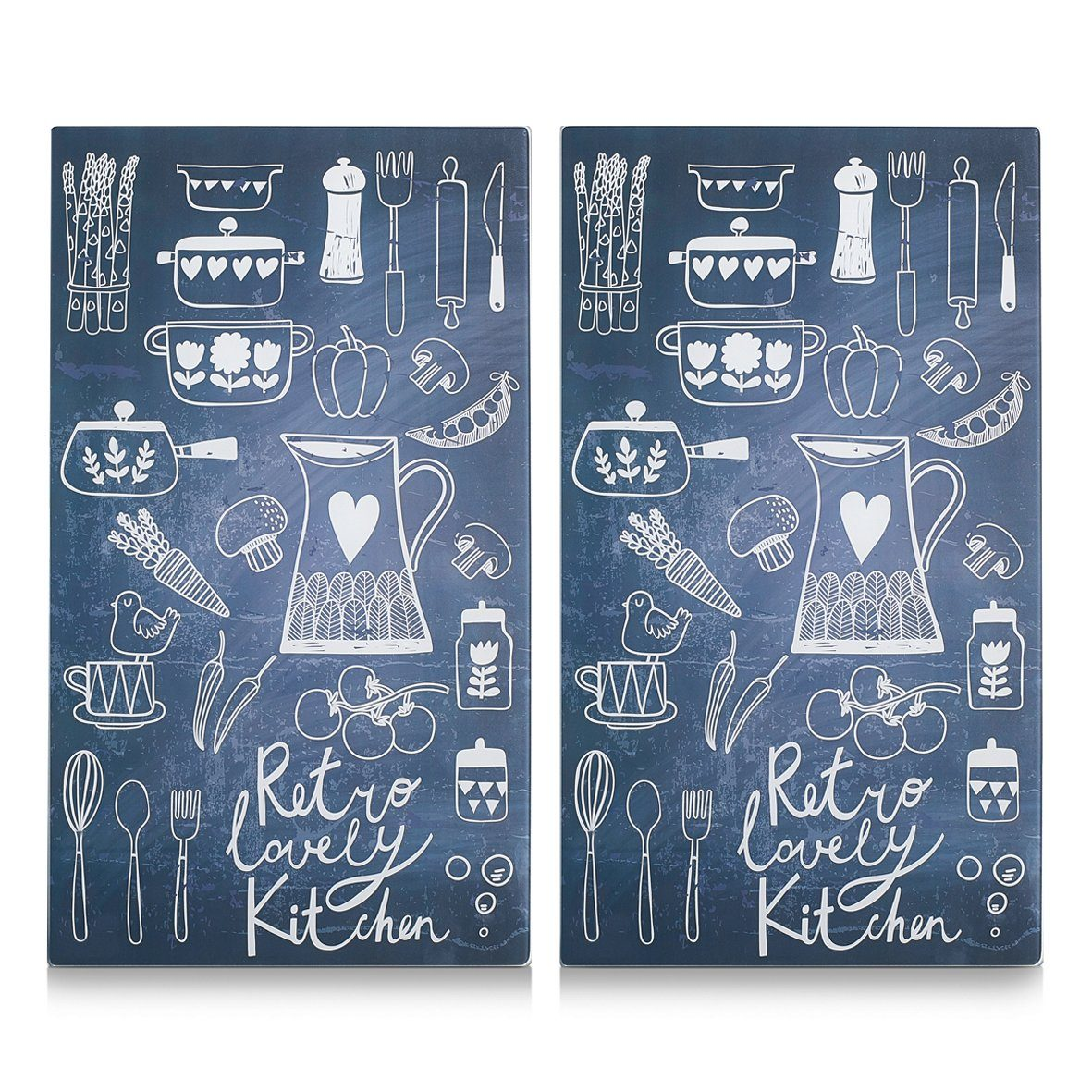 Herdabdeckplatten »Lovely Kitchen«, 2er-Set