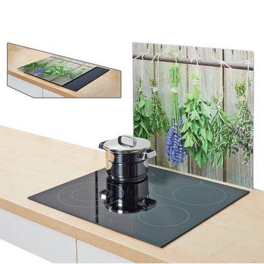 herdblende spritzschutz kr uter online kaufen otto. Black Bedroom Furniture Sets. Home Design Ideas