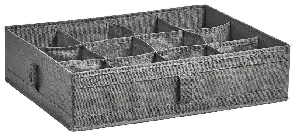 Faltbare Aufbewahrungsbox für Wäsche »12 Fächer«, 44x34x11 cm