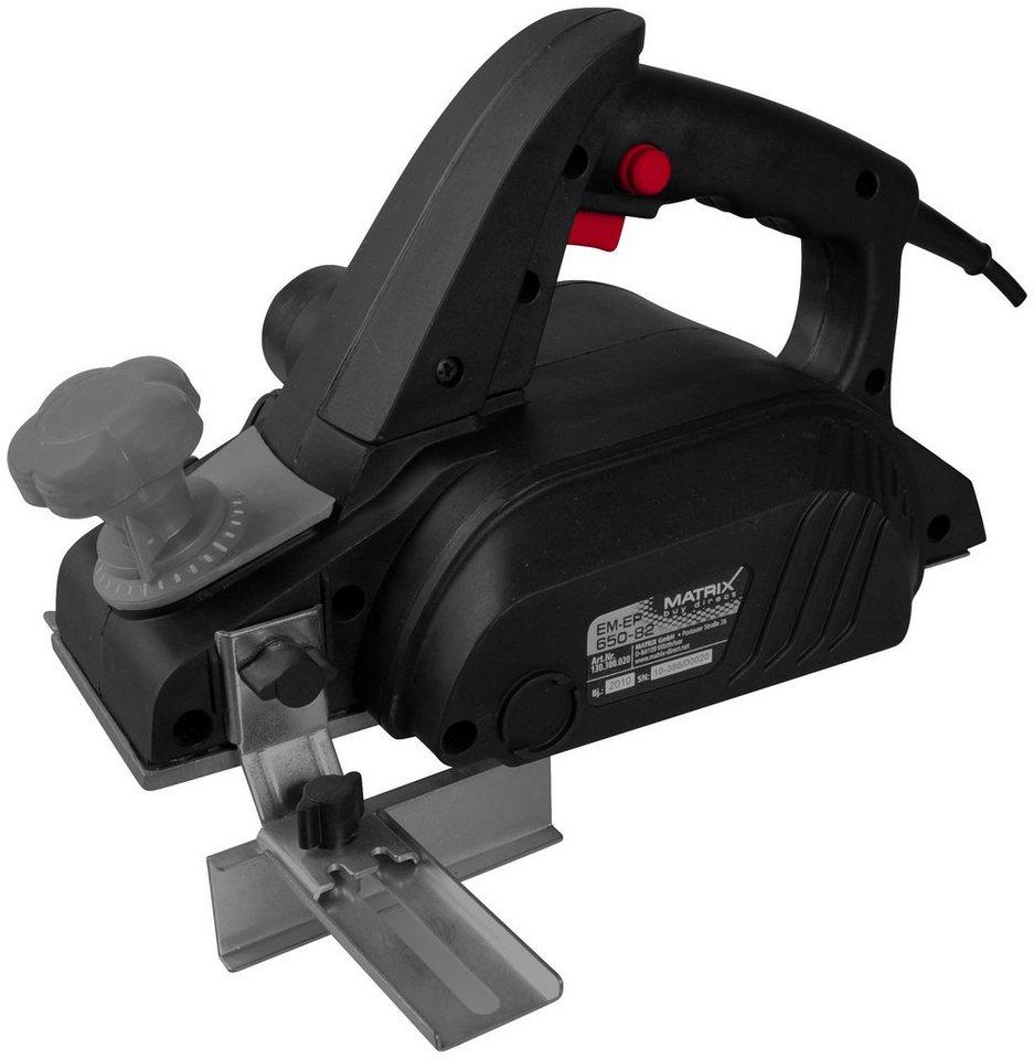 Elektrohobel »EM-EP 650-82« in schwarz