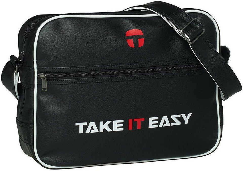 TAKE IT EASY® Umhängetasche, »Retro Bag« in schwarz