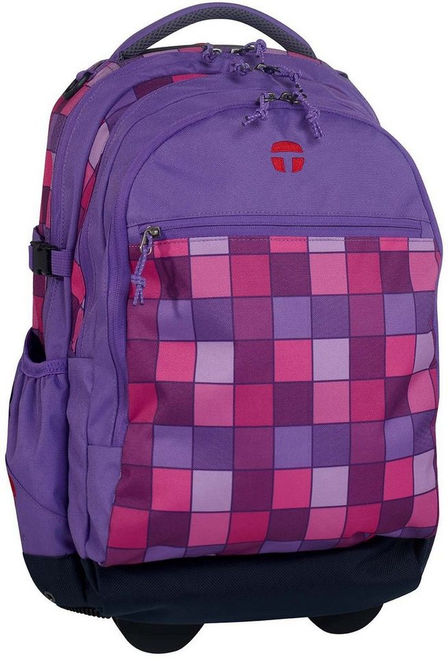 TAKE IT EASY® Rucksack Trolley, »Barcelona Mission« in lila