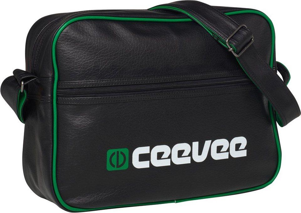 ceevee® Umhängetasche, »Retro Bag« in black