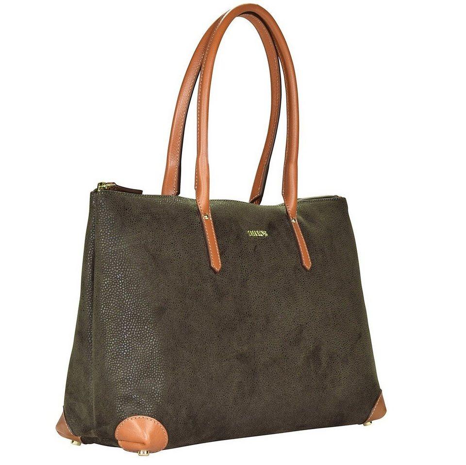 Bric's Life Shopper Tasche 38 cm in olive