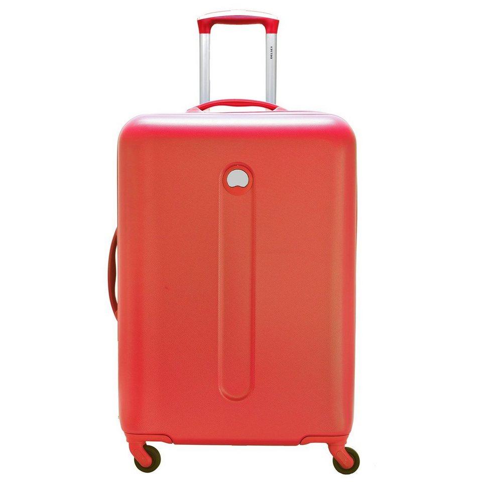 Delsey Helium 4-Rollen Trolley 71 cm in orange