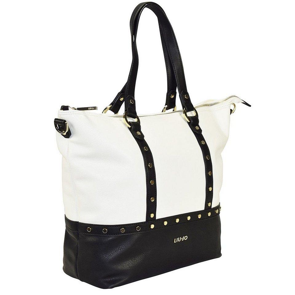 Liu Jo Liu Jo Shopping Orizzontal Shopper Tasche 32 cm in white