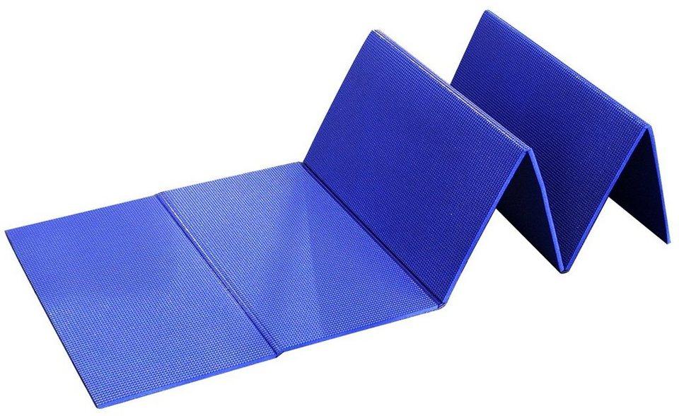 Relags Luftmatratze »Isomatte Faltbar« in blau