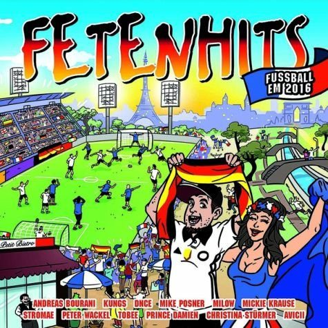 Audio CD »Various: Fetenhits Fussball Em 2016«