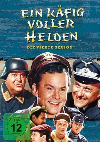 DVD »Ein Käfig voller Helden - Die vierte Season (4...«