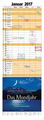 Kalender »Das Mondjahr 2017 Familienkalender«