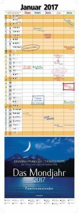Kalender »Das Mondjahr, Familienkalender 2017«