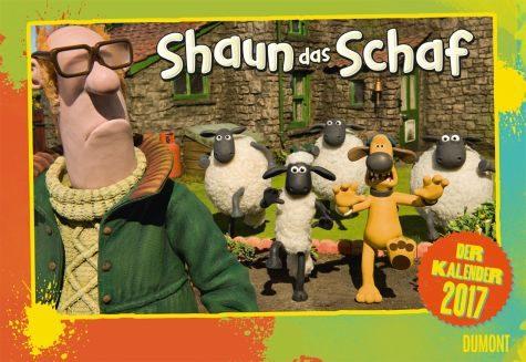 Kalender »Shaun das Schaf 2017«