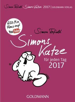 Kalender »Simons Katze für jeden Tag - 2017«