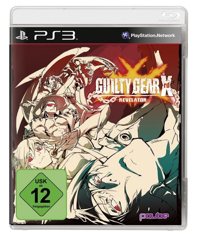 PQube Playstation 3 - Spiel »Guilty Gear XRD – Revelator «