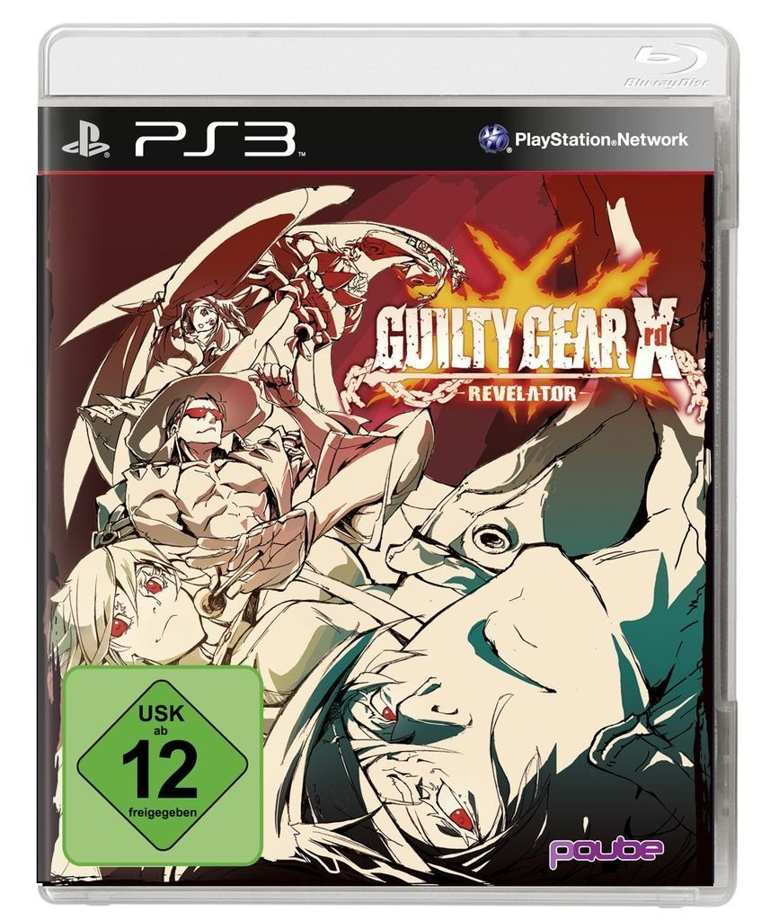 PQube Playstation 3 - Spiel »Guilty Gear XRD – Revelator «