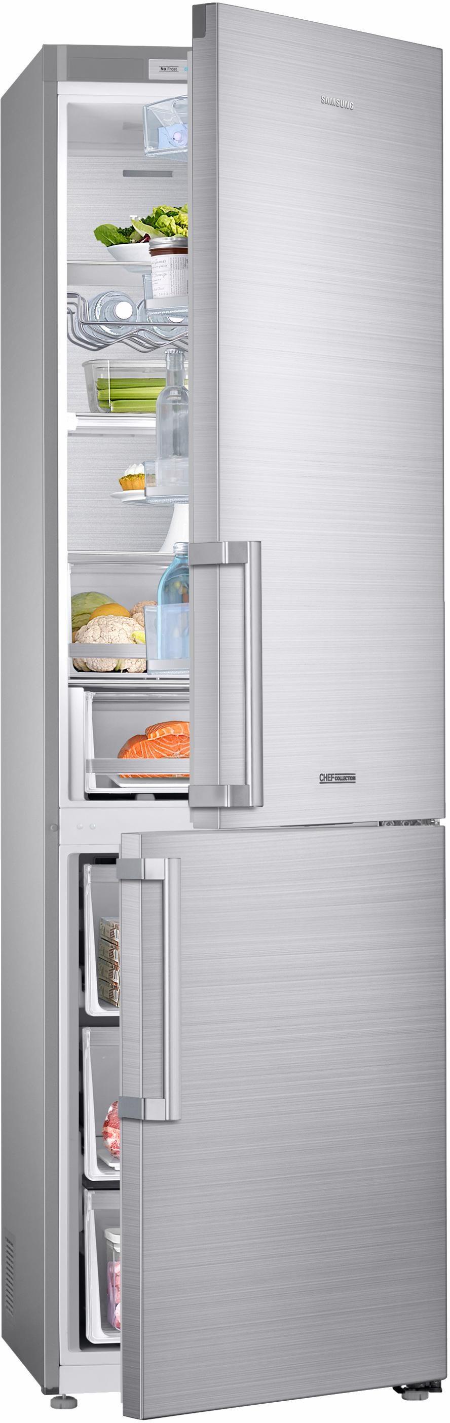 Samsung Kühl-Gefrierkombination RL36J8159SR/EG, Energieklasse A+++, 201 cm hoch, NoFrost