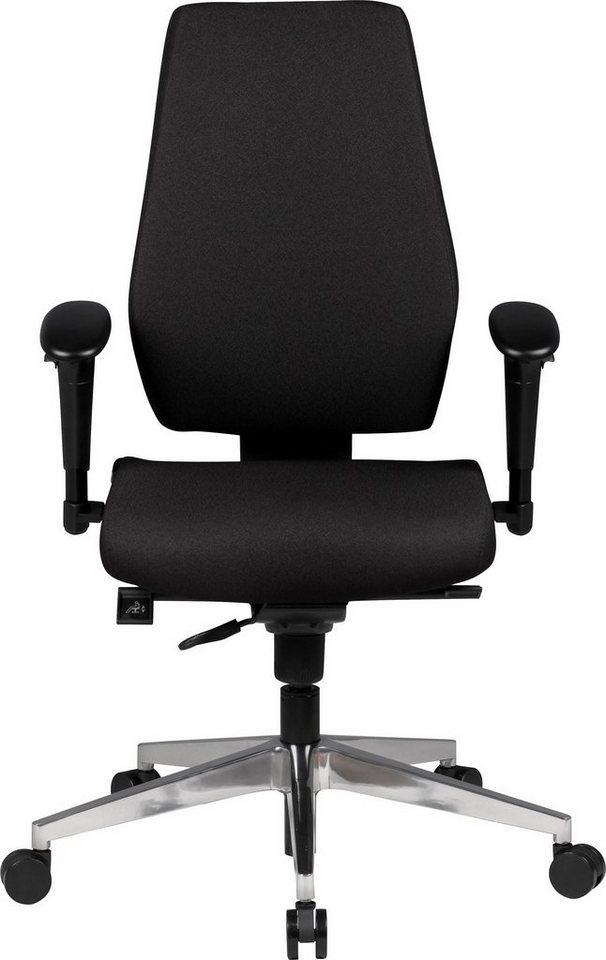 Amstyle Bürostuhl »Darius« in schwarz