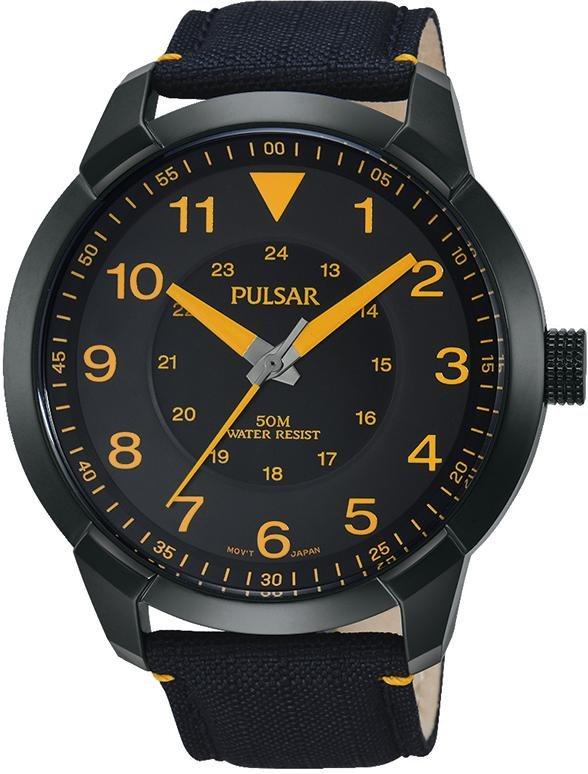 Pulsar Quarzuhr »PG2023X1« in schwarz