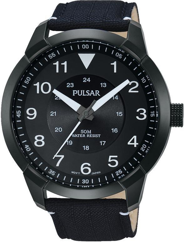 Pulsar Quarzuhr »PG2027X1« in schwarz