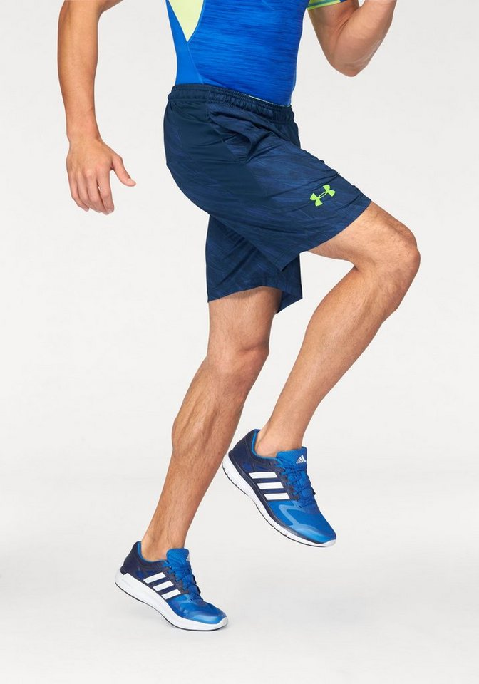 "Under Armour® Shorts »RAID PRINTED 8"" SHORT« in blau-grün"