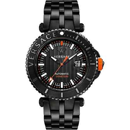 Versace Schweizer Uhr »V-RACE DRIVER VAL010016« 3 von 3 Zeiger beleuchtet