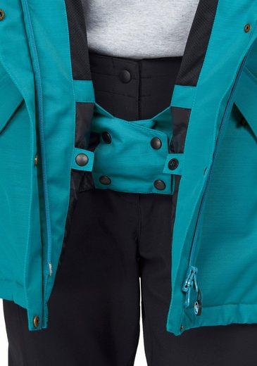 Polarino Skijacke, aus wasser- & winddichtem Material