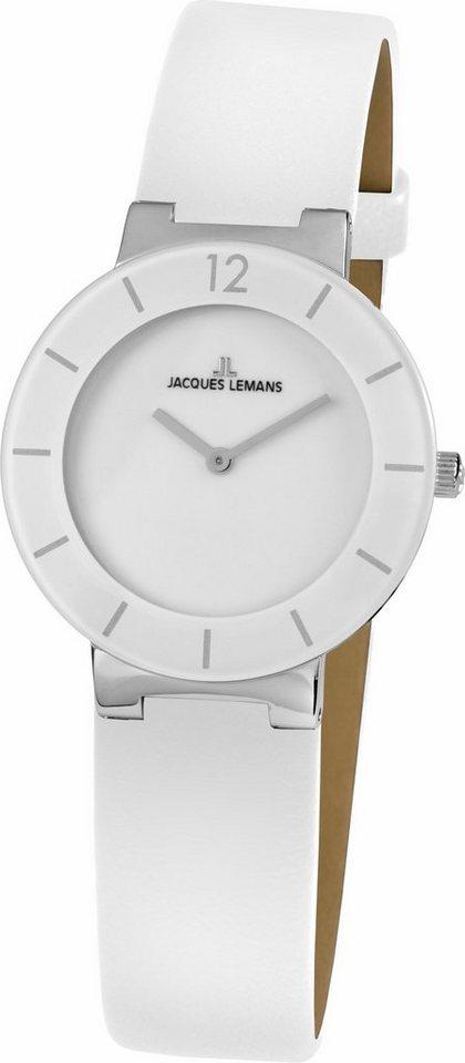 Jacques Lemans Classic Quarzuhr »41-5B« in weiß
