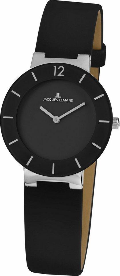 Jacques Lemans Classic Quarzuhr »41-5A« in schwarz