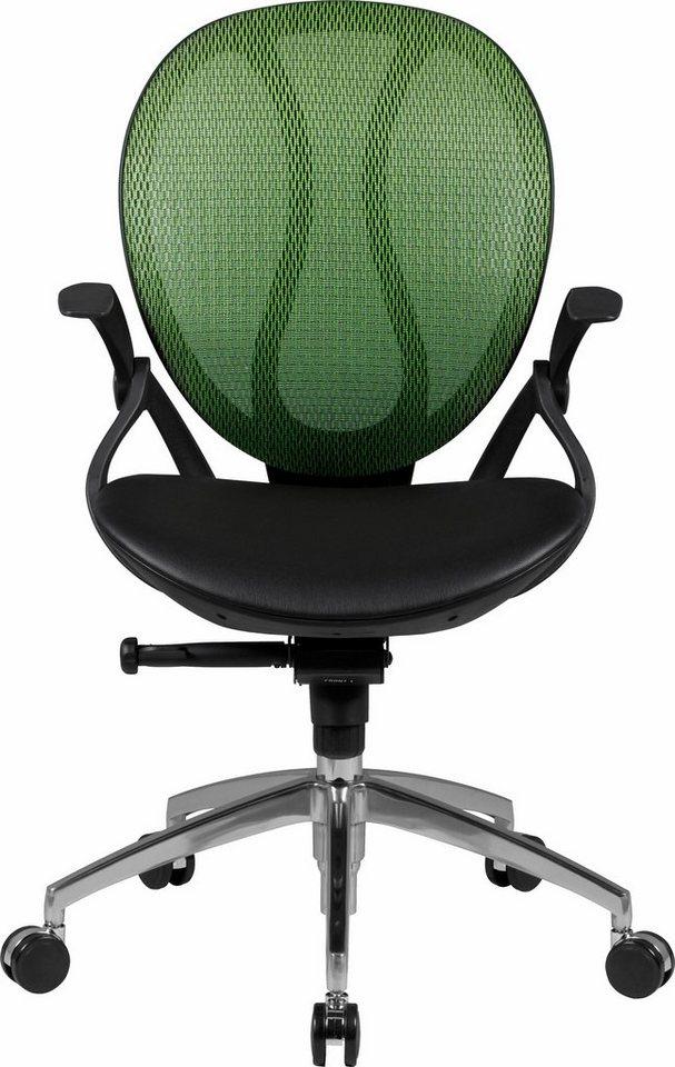 Amstyle Bürostuhl »SHAPE 1« Chefsessel »SHAPE 2« in grün
