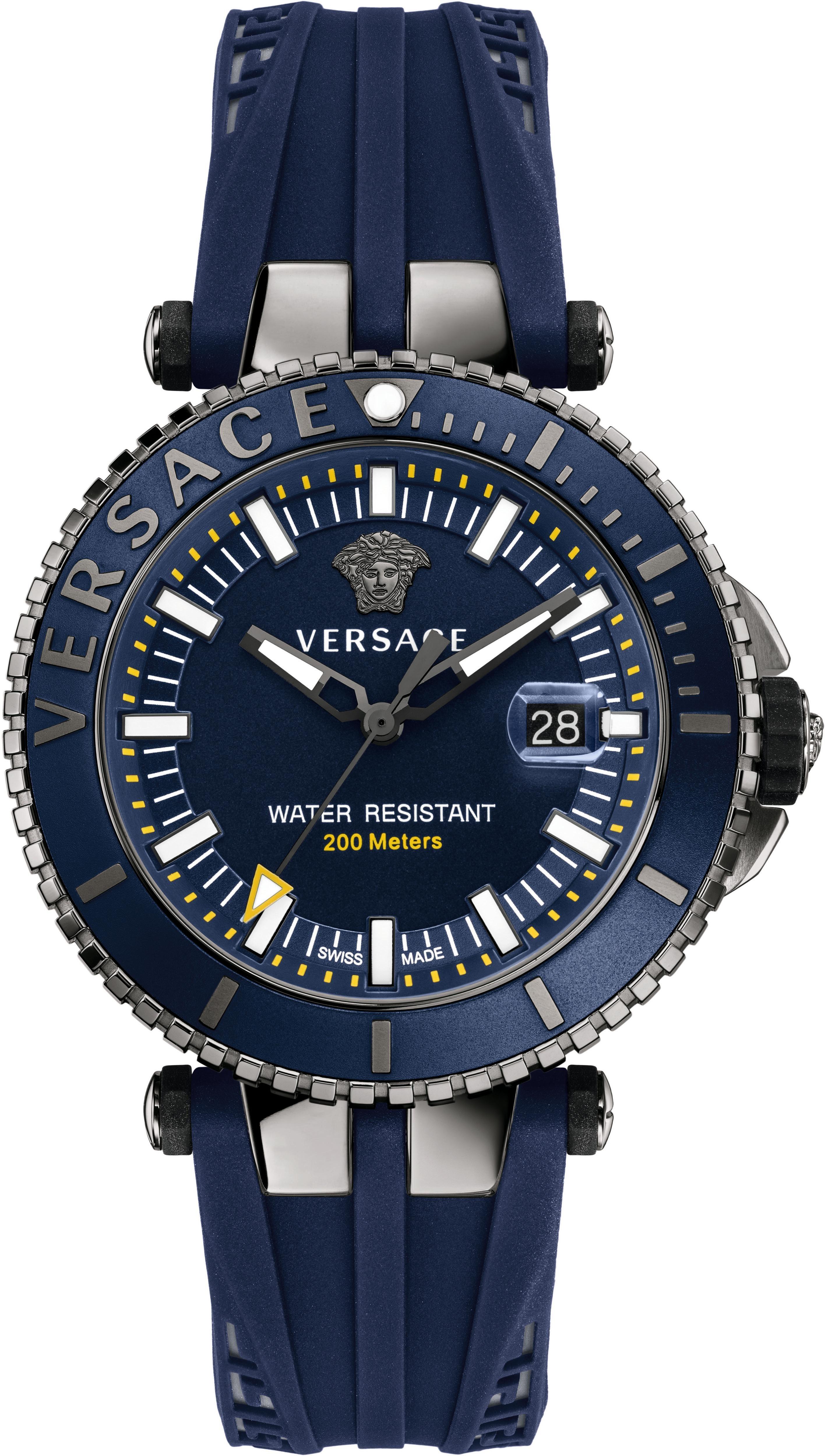 Versace Schweizer Uhr »V-RACE DRIVER VAK020016«, 3 von 3 Zeiger beleuchtet