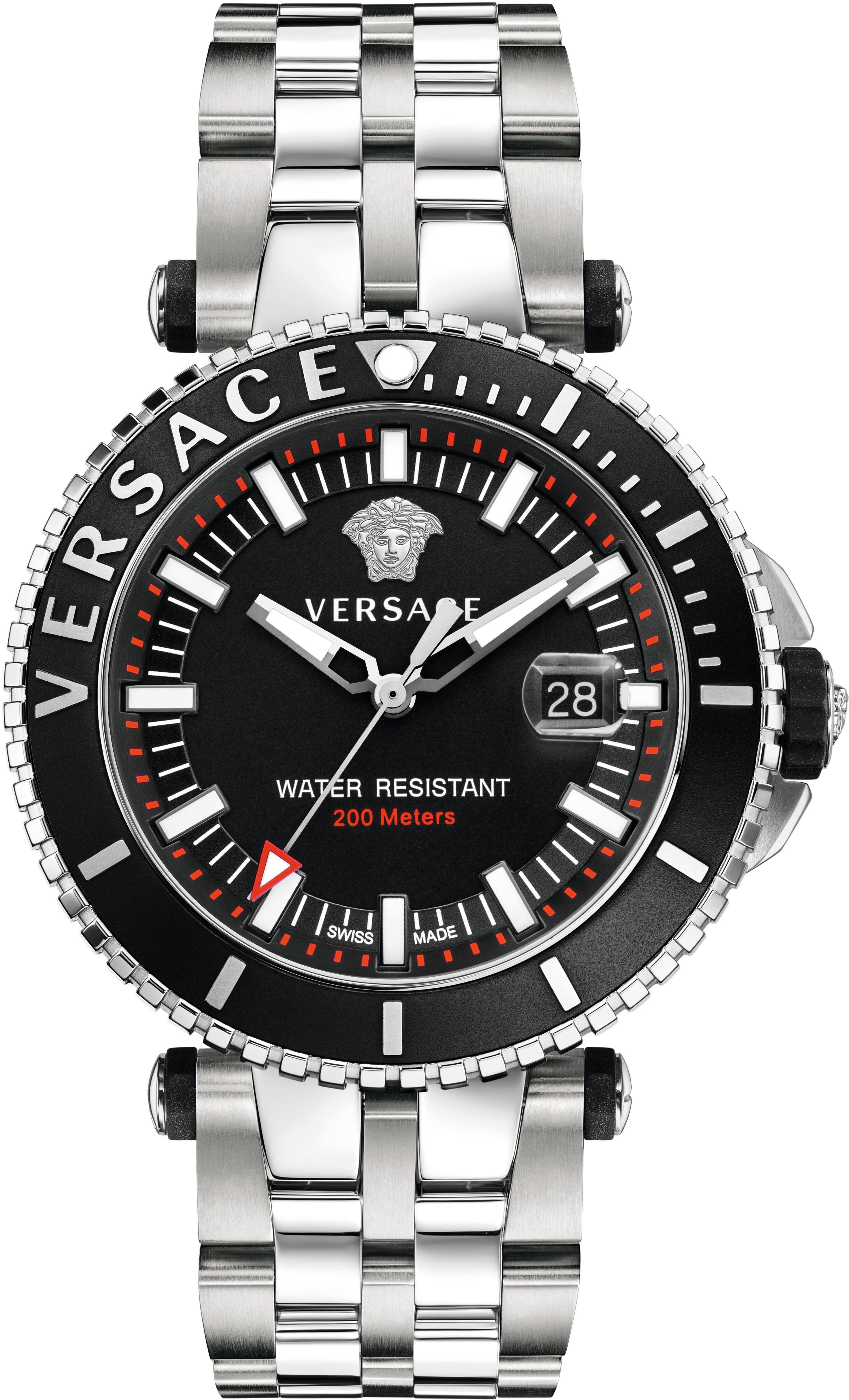 Versace Schweizer Uhr »V-RACE DRIVER VAK030016«, 3 von 3 Zeiger beleuchtet