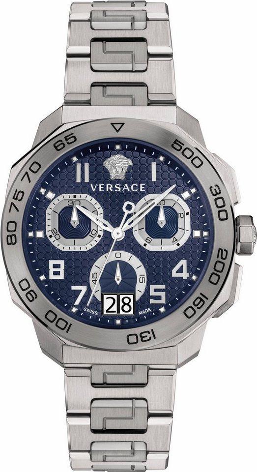 Versace Chronograph »DYLOS, VQC090016« 5 von 6 Zeiger beleuchtet in silberfarben