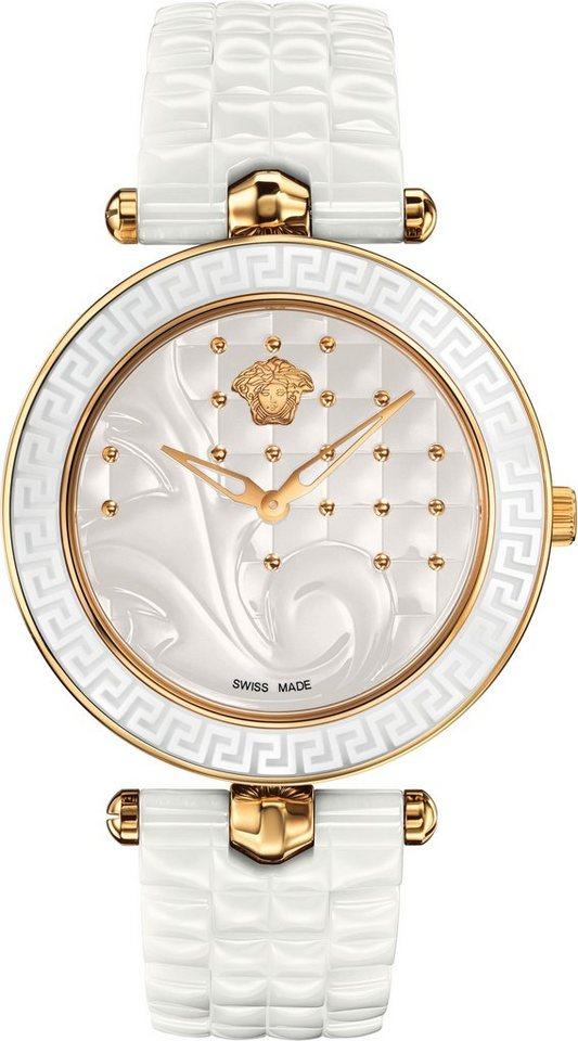Versace Schweizer Uhr »VANITAS CERAMIC, VAO030016« in weiß