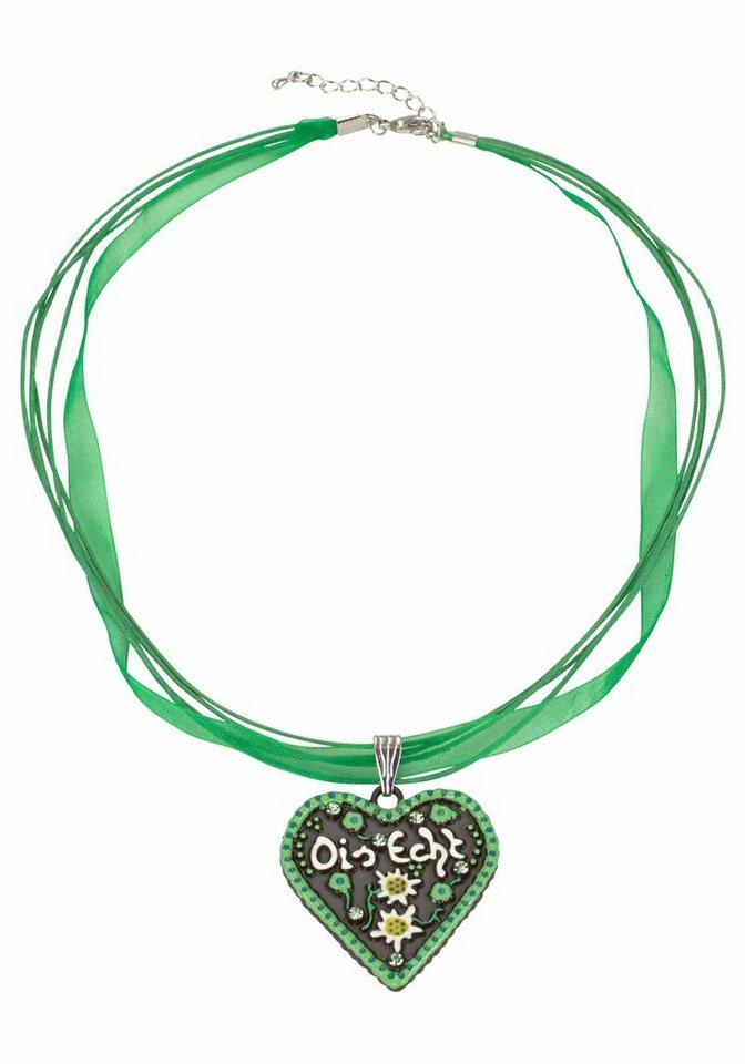 J. Jayz Kette »mit Herz« in grün