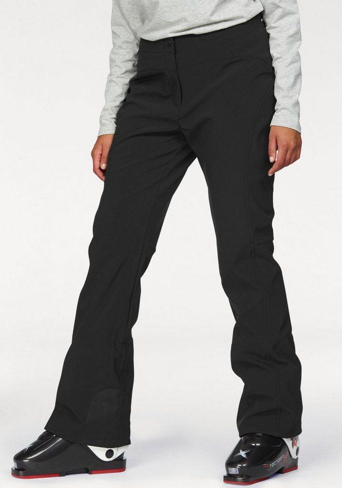 Maier Sports Skihose mit winddichter & wasserabweisender Membrane in schwarz